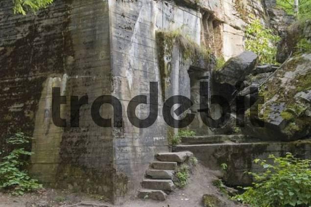 Wolfsschanze, Wolfs Lair, WWII bunker, Masuria, Poland, Europe