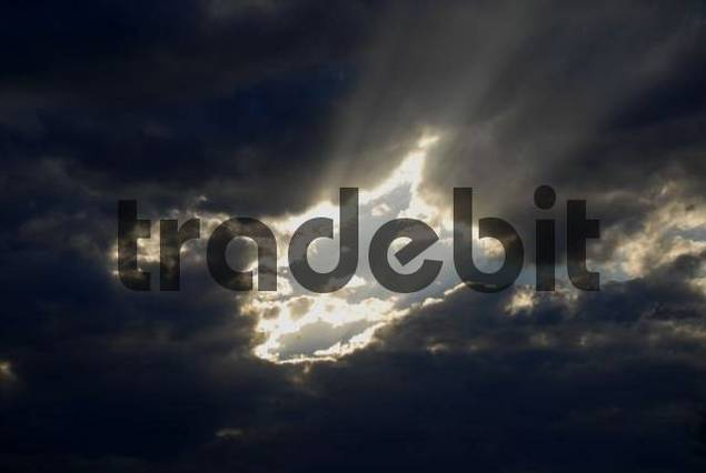 Dramatic clouds near Yulara, Northern Territory, Australia