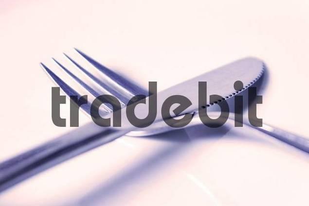 measurer and fork