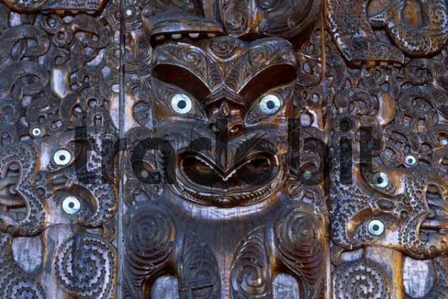 Maori Wood Carving North Island New Zealand Download