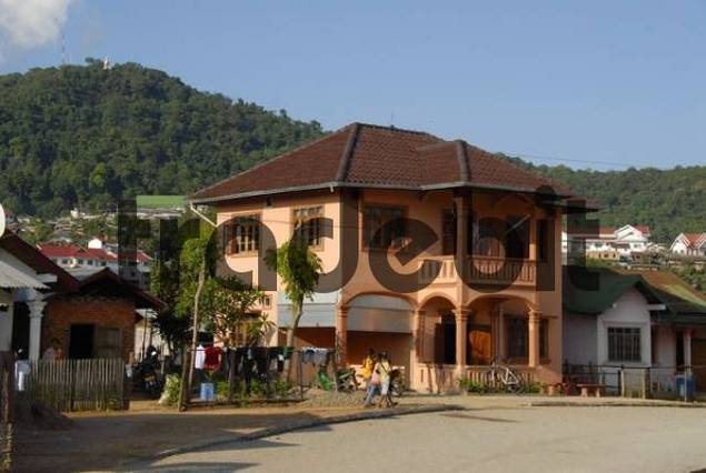 New property in the city, Phongsali City, Laos, Asia