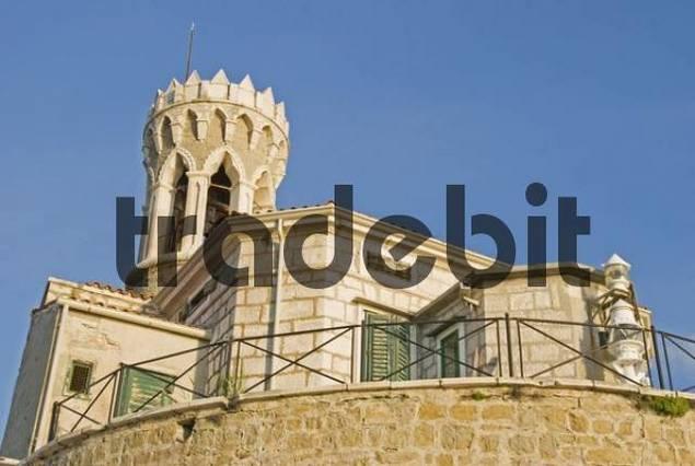 Lighthouse, Piran, Istria, Slovenia, Europe