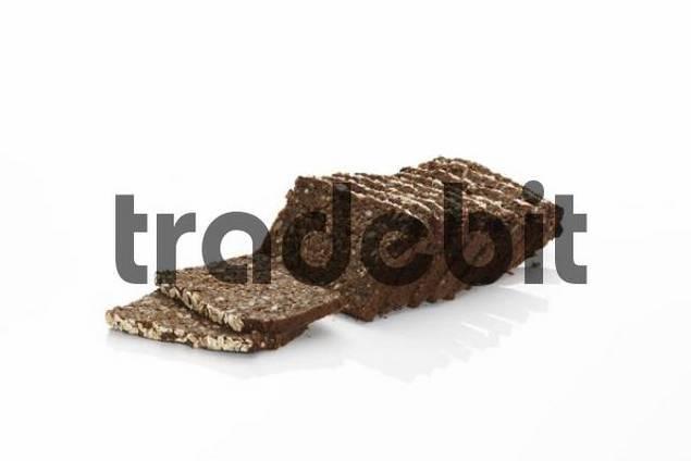 Sliced whole-grain bread
