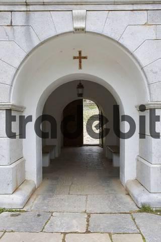 Eingangsbereich einer Kirche