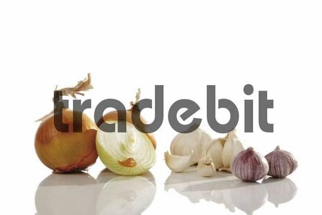 Onions Allium cepa and Garlic Allium Sativum