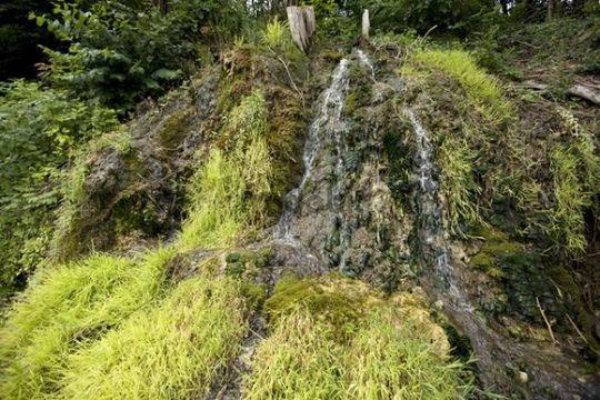 Source of water, waterfall, Schaffhausen, Switzerland, Europe
