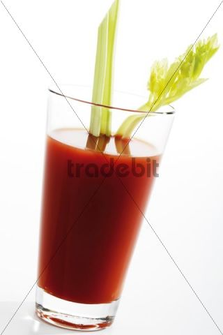 Bloody mary with celery