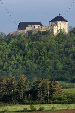 Tocnik Castle, Beroun district, Czech Republic, Europe