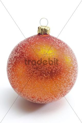 Golden Christmas decoration ball
