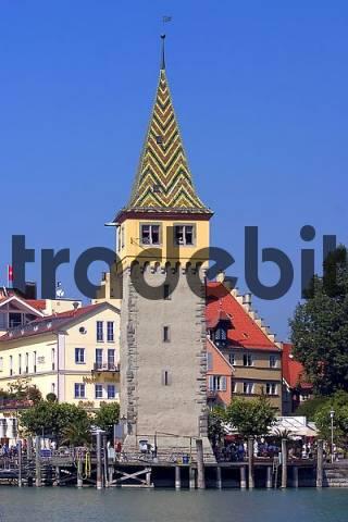 Lake Constance, Lindau, Mangtower