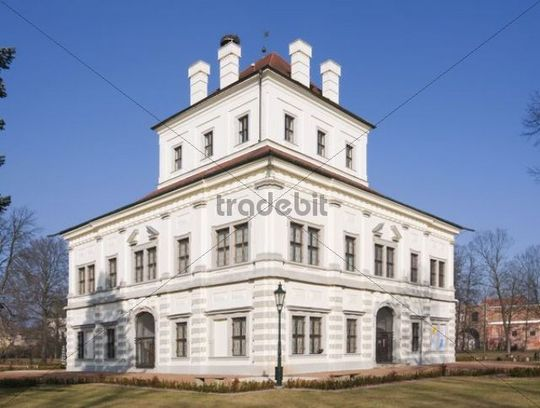 Pleasure house in Ostrov, Karlovy Vary district, West Bohemia, Czech Republic, Europe