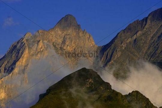Grand Gabizon from the Col dAubisque, Aquitaine, France, Europe