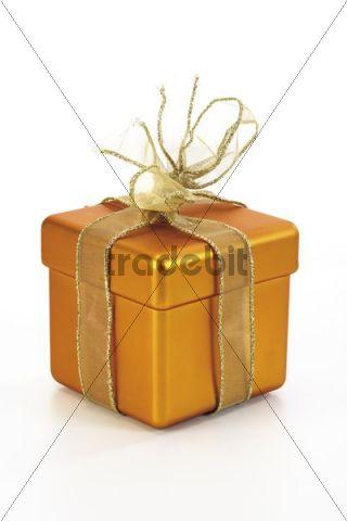 Golden giftbox