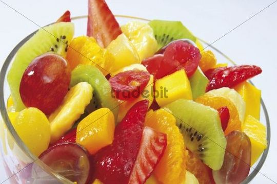 Mixed fruit salad - Download Abstract