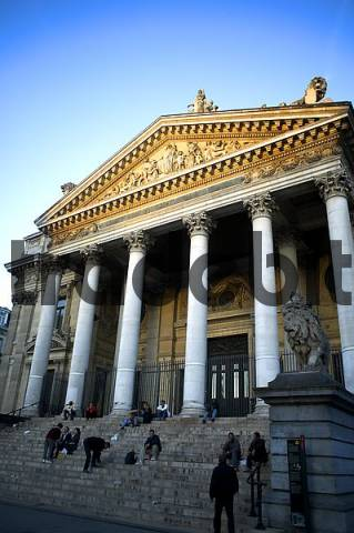 Belgium / Brussels, Stock exchange