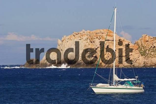 rock formation at Capo Testa, Sardinia, Italy
