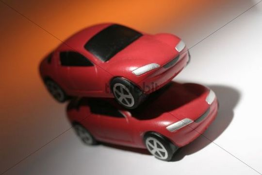 Red toy cars