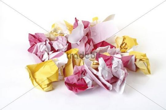 Crumpled-up paper