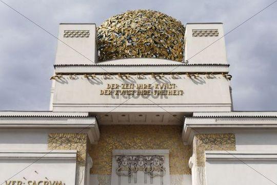 Viennese Secession building, Secession, art nouveau, Vienna, Austria, Europe
