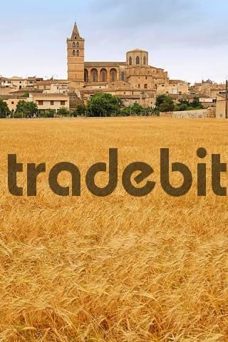 Majorca, Sineu, church Mare de Deu dels Angels