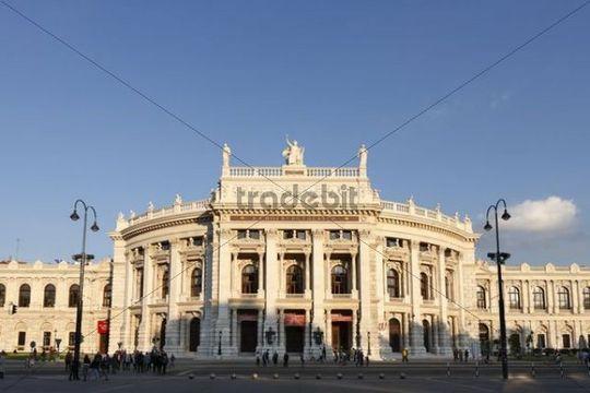 Burgtheater, Vienna, Austria, Europe