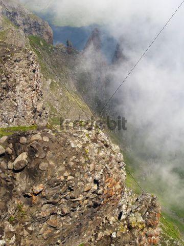 Sass Capel mountain, Dolomites, Alps, Italy, Europe