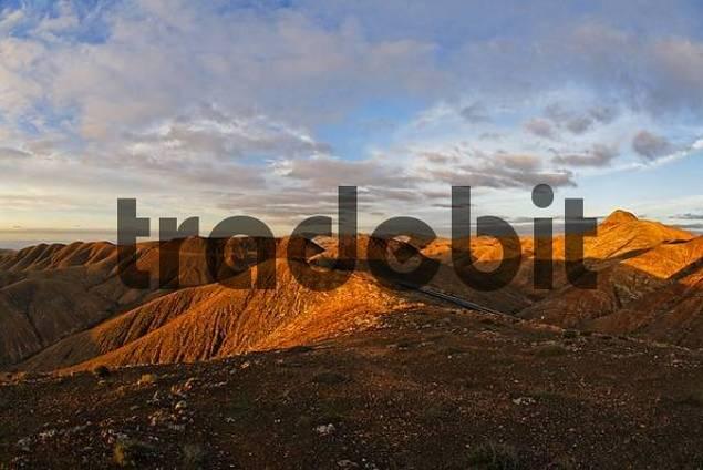 mountains La Tablada near Pajara - Fuerteventura , Canary Islands