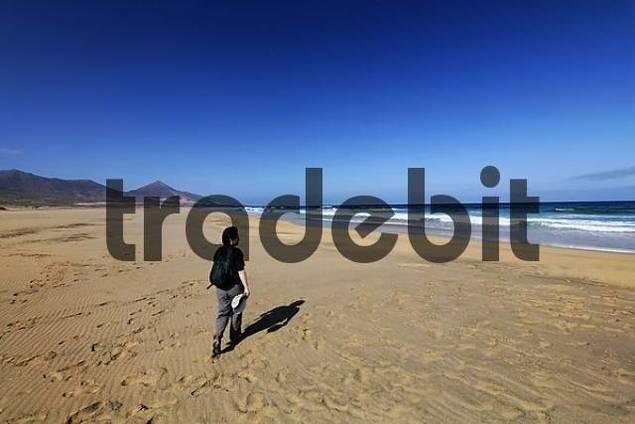 Playa de Cofete , Jandia , Fuerteventura , Canary Islands