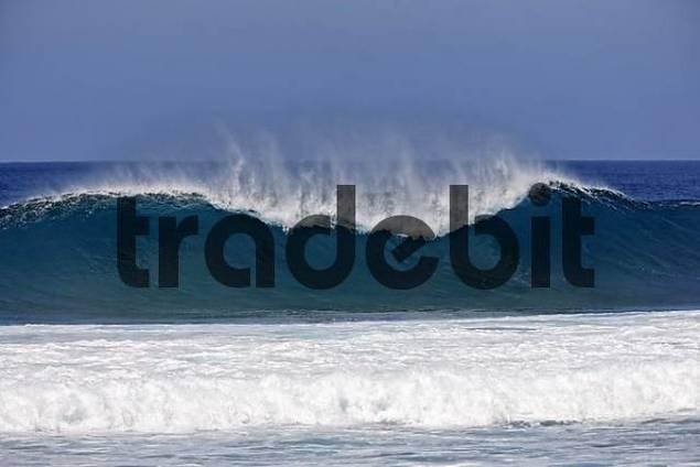 waves , Jandia , Fuerteventura , Canary Islands