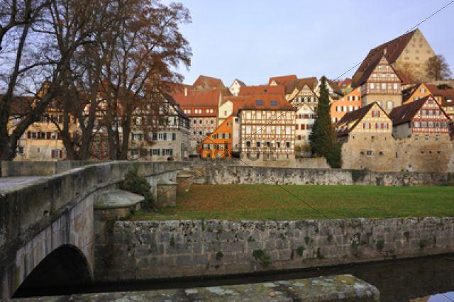 """Glasfassade """"""""Neues Museum"""""""", von außen, beleuchtet in der Dämmerung, Luitpoldstraße 5, Nürnberg, Mittelfranken, Bayern, Deutschland, Europa, Öffentl"""