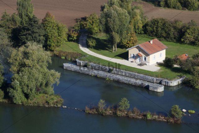 Ludwig-Danube-Main Canal / bei Eggersberg, Riedenburg, Bavaria, Germany, Europe