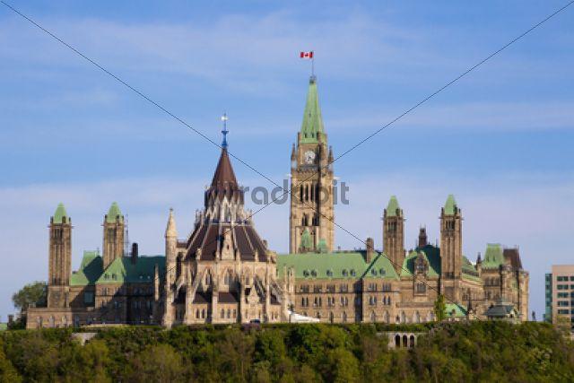 Parliament Buildings of Canada, Ottawa, Ontario, Canada