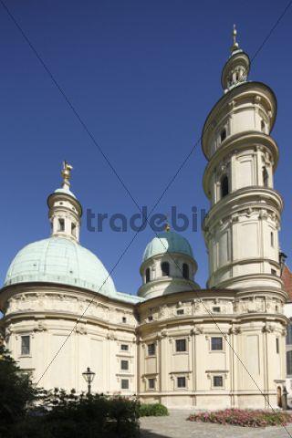 Mausoleum of Emperor Ferdinand II, Graz, Styria, Austria, Europe, PublicGround