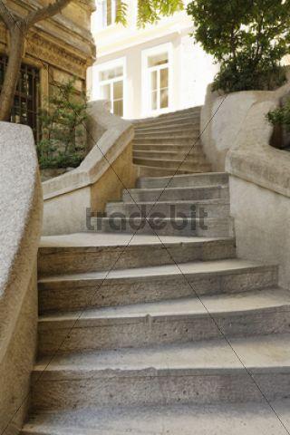 Kamondo Stairs / Galata, Karaköy, Beyoglu, Istanbul ...