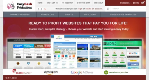 Pay for Turnkey Websites Selling Business Script, Autopilot Income