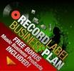 Thumbnail Record Label Business Plan Template + Free Bonus Package.
