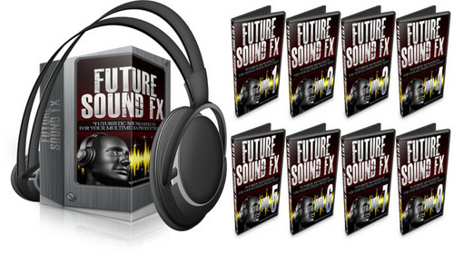 Pay for Futuristic Sound Effects - Vol 1 Through 8 - Discount Bundle