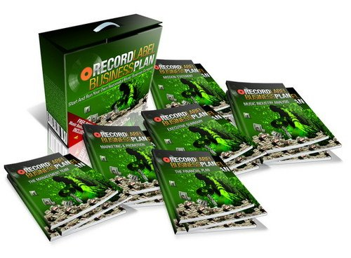 Record Label Business Plan Template Free Bonus Package Downloa - Record label business plan template free