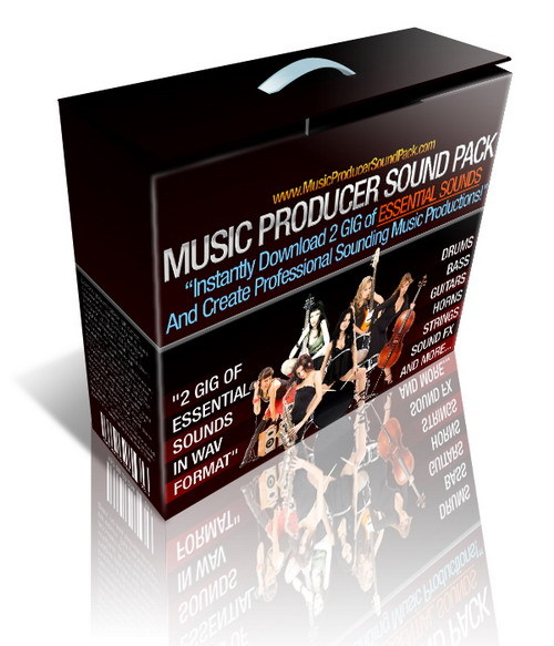 Pay for MUSIC PRODUCER SOUND PACK - 2 GIG - INSTANT DOWNLOAD
