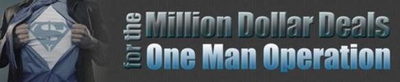 Thumbnail Million Dollar Deals One Man Operation