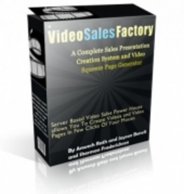 Pay for Video Sales Factory
