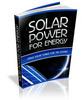 Thumbnail Solar Power For Energy (PLR)