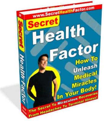 Pay for The Secret of Vibrant Health(PLR)