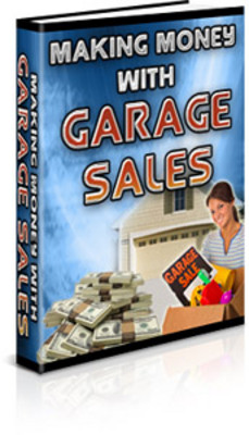 Pay for Making Money with Garage Sales
