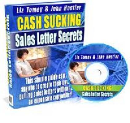 Pay for Cash Sucking Sales Letter Secrets