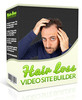 Thumbnail Hair Loss Video Site Builder