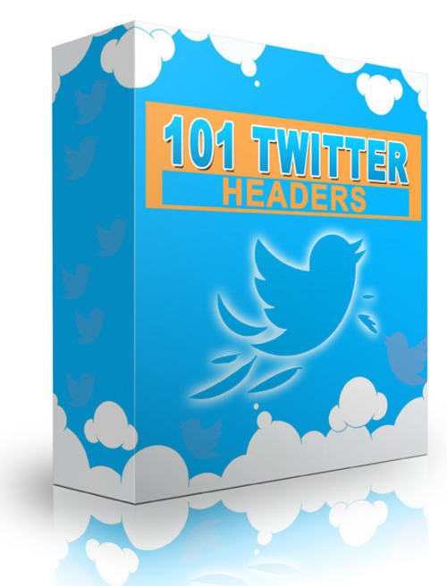 Pay for 101 Twitter Headers