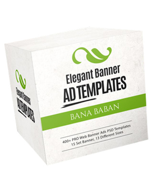 Pay for Elegant Banner Ad Templates Package