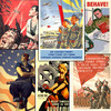 Thumbnail 350 Vintage Propaganda Posters Collection