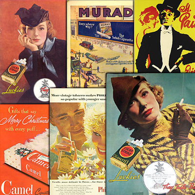 Pay for 289 Vintage Cigarette Poster Ads Collection 2